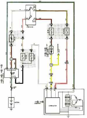 1999 LEXUS ES300 CHARGING SYSTEM DIAGRAM SCHEMATIC  CHARGING STARTING SYSTEM DIAGRAMS FOR LEXUS