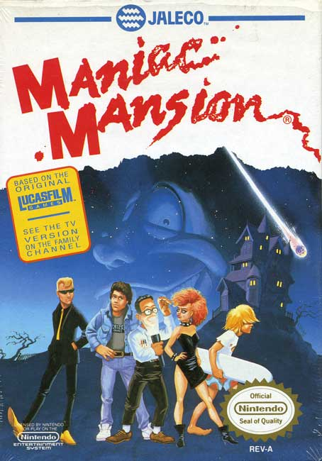 ManiacMansionFans complete Maniac Mansion reference page