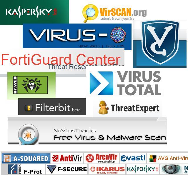 verschillende virusscanners