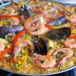 DELICIOSA PAELLA DE FRUTOS DO MAR