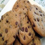 **COOKIES DE BAUNILHA E CHOCOLATE**