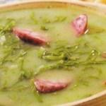 Receita de saboroso caldo verde