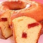 Receita de delicioso bolo de fubá com goiabada