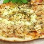 Pizza de panela de pressão simples e fácil