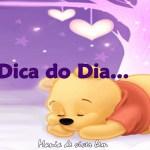 **DICA DO DIA…**