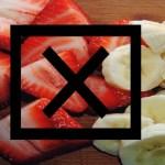 Aviso! Para sua saúde e a de seus filhos: Nunca misture essas frutas … Veja!