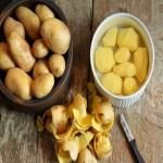 Faça petiscos deliciosos com as cascas da batata!