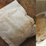 Truque para Limpar a louça com saquinhos de chá usado! Aprenda.