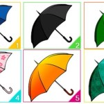 Escolha um guarda-chuva e descubra algo interessante sobre você.