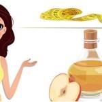 Como usar vinagre de maçã para perder peso de forma saudável.