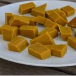Cubos de gelatina com cúrcuma e mel: um ótimo anti-inflamatório!