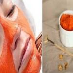 Máscara de cenoura para combater flacidez facial