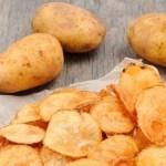 Aprenda como fazer essa magnífica batata chips no forno