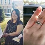 Mulher responde ao doloroso comentário do joalheiro sobre o seu anel de noivado
