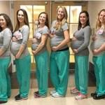 9 enfermeiras da mesma maternidade ficam grávidas ao mesmo tempo