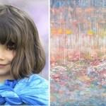 Menina autista de 5 anos comove o mundo suas incríveis pinturas
