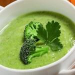 Receita de sopa de legumes verdes