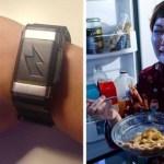 Esta pulseira dá choques naqueles que querem comer escondido