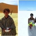 Casal juntou dinheiro para o casamento, mas prefere viajem por 400 dias à festa de casamento