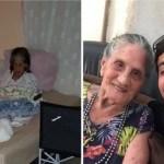 Jovem resgatou idosa que vivia abandonada e lhe deu casa e comida