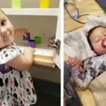 Bebê com 21 meses vence câncer no estágio 4 após 15 duros meses de tratamento