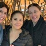 Heloísa Périssé é visitada no hospital pelas amigas: Maria Clara, Claudia Raia e Ingrid Guimarães