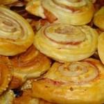 Receita fácil de caracóis com queijo e presunto