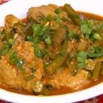 Receita especial de frango com quiabo