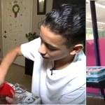 Todas as manhãs, este menino de 14 anos prepara doces e vende-os para ajudar a sua mãe com os seus tratamentos médicos