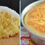 Receita de bolo muito úmido de coco