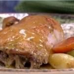 Aprenda a fazer a receita da Ana Maria Braga: frango aberto com legumes