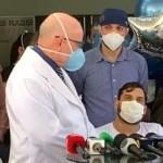 Sertanejo Cauan deixa hospital curado da Covid-19