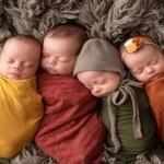 Mulher fica grávida de quadrigêmeos logo após adotar quatro irmãos