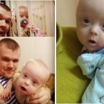 Mãe queria dar o filho com Síndrome de Down para adoção, mas o pai recusou e agora está criando-o sozinho