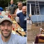 """Eletricista """"convoca"""" a comunidade para reformar gratuitamente a casa de uma idosa em dificuldade"""