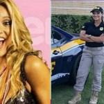 Ex-loira do grupo 'É o Tchan', Silmara Miranda, passa em concurso e agora é policial federal