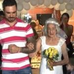 Aos 96 anos, ela casa com o amor de sua vida no lugar que surgiu o verdadeiro amor