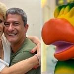 "Ana Maria Braga homenageia Tom Veiga, o ""Louro José"""