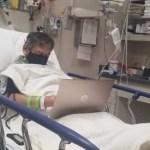 Professor hospitalizado corrige as provas dos alunos antes de falecer