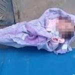 Família encontra bebê jogada em calçada em Minais Gerais