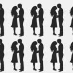 Entre os casais apaixonados, tem um que é diferente, consegue encontrá-lo?