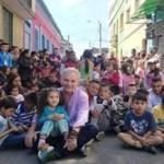 Mais de 85 mil crianças já foram resgatadas por este homem