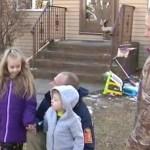 Menina de 6 anos salva sua família de um fim trágico