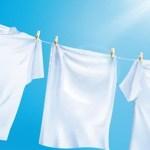 Como tirar manchas de cloro em roupas brancas