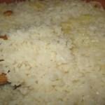 Truque para salvar arroz empapado