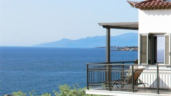 Admire the beautiful view from our balconies