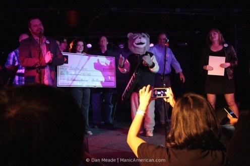 Dan Meade: Keytar Bear with Check