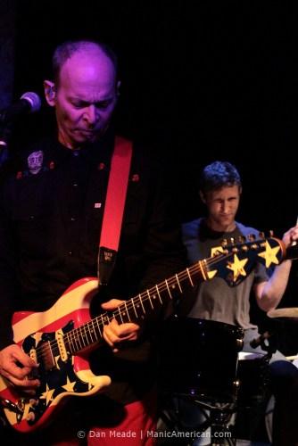Wayne Kramer plays at the Bowery Electric.