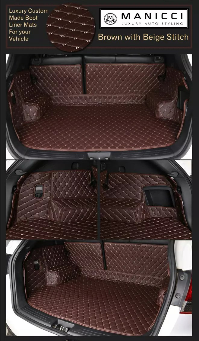 Luxury Custom Fitted Boot Liner Mats by Manicci