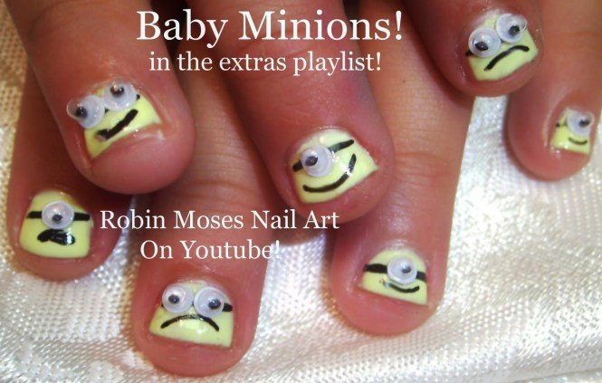 Nail Design For Kids Instructions To Paint Art Designs Making Outlines With
